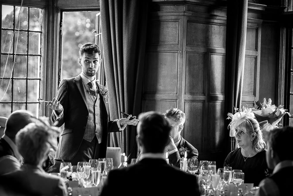 groom alex speech at rushton hall