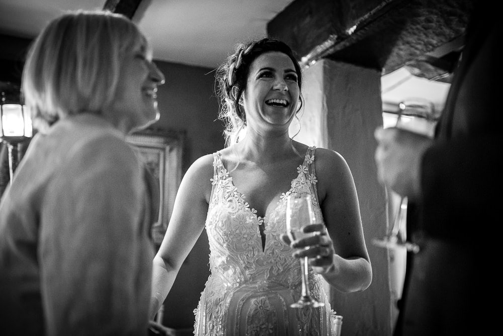 laughing bride at swettenham arms
