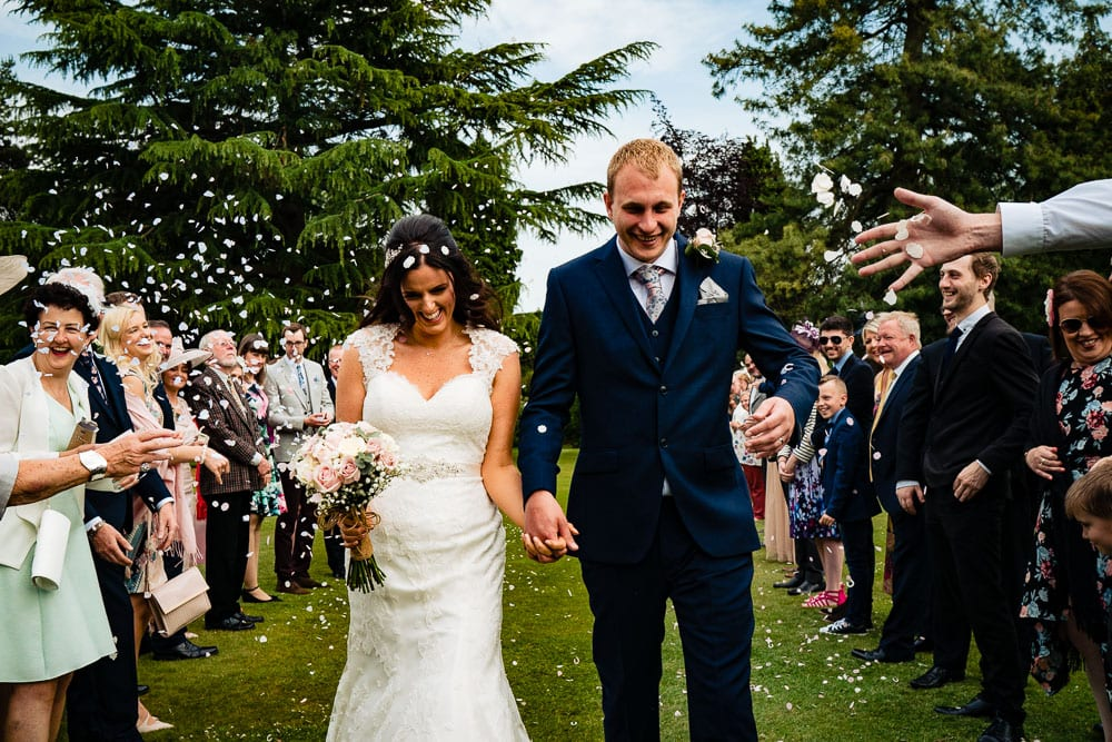 confetti at mottram hall