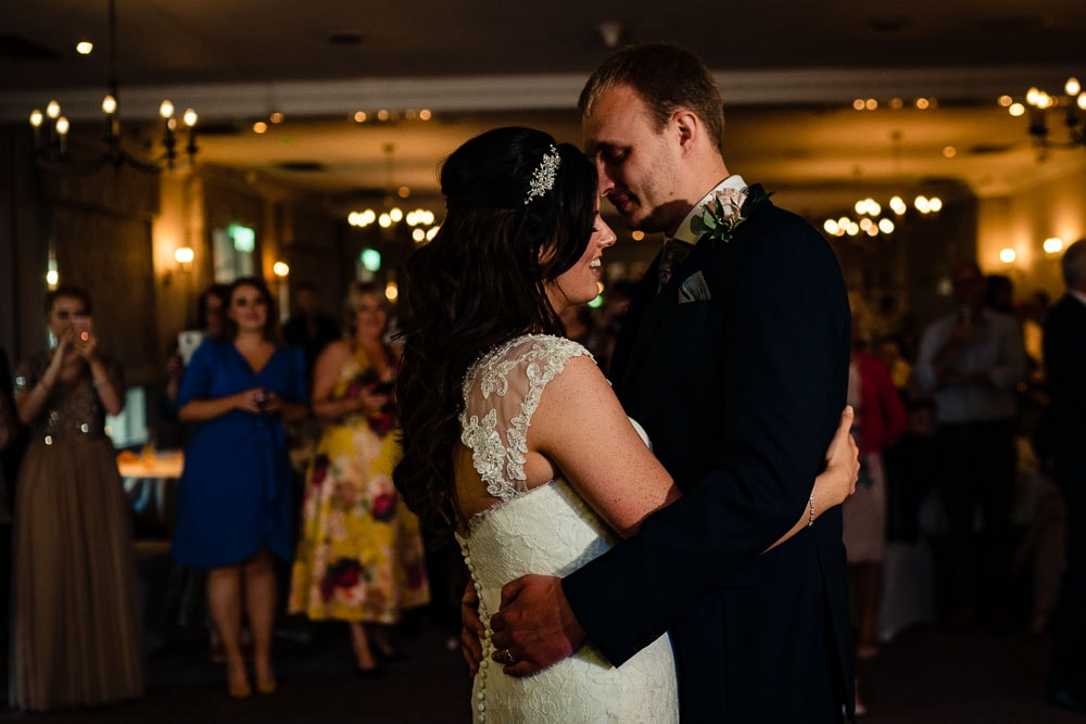 first dance at mottram hall wedding