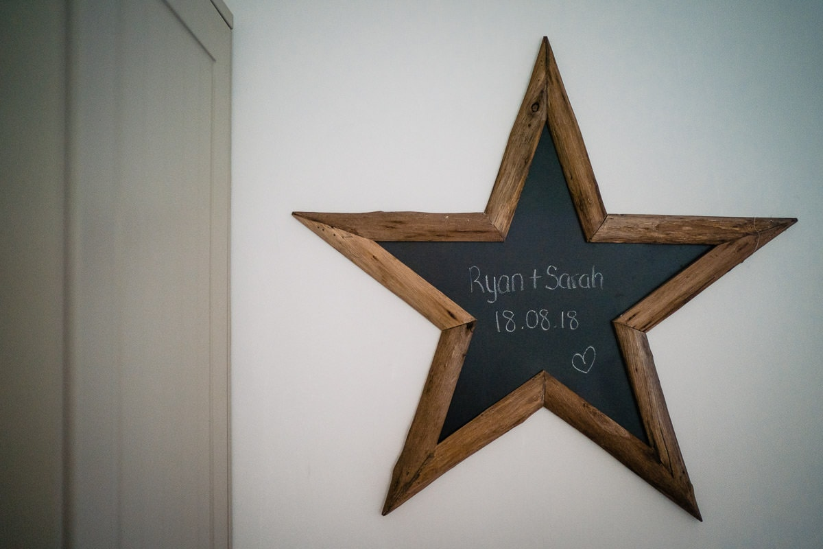 star chalk board
