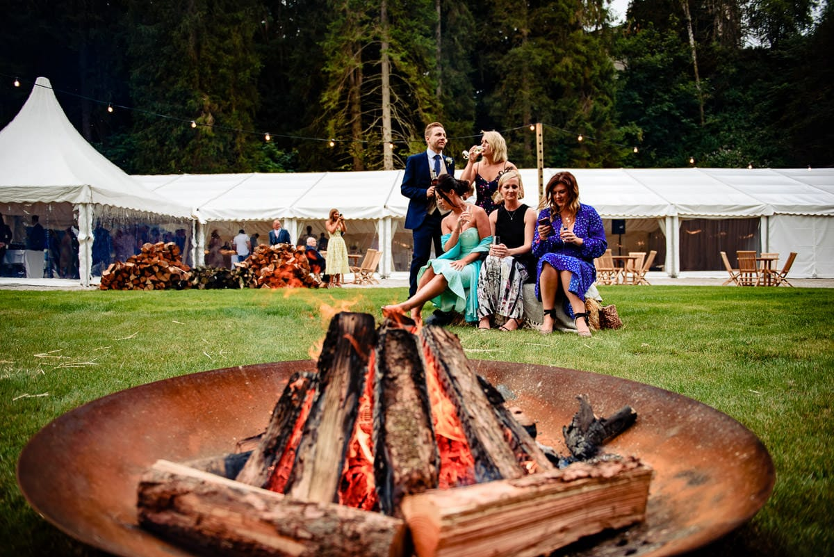 fire pits at gisburn park estate