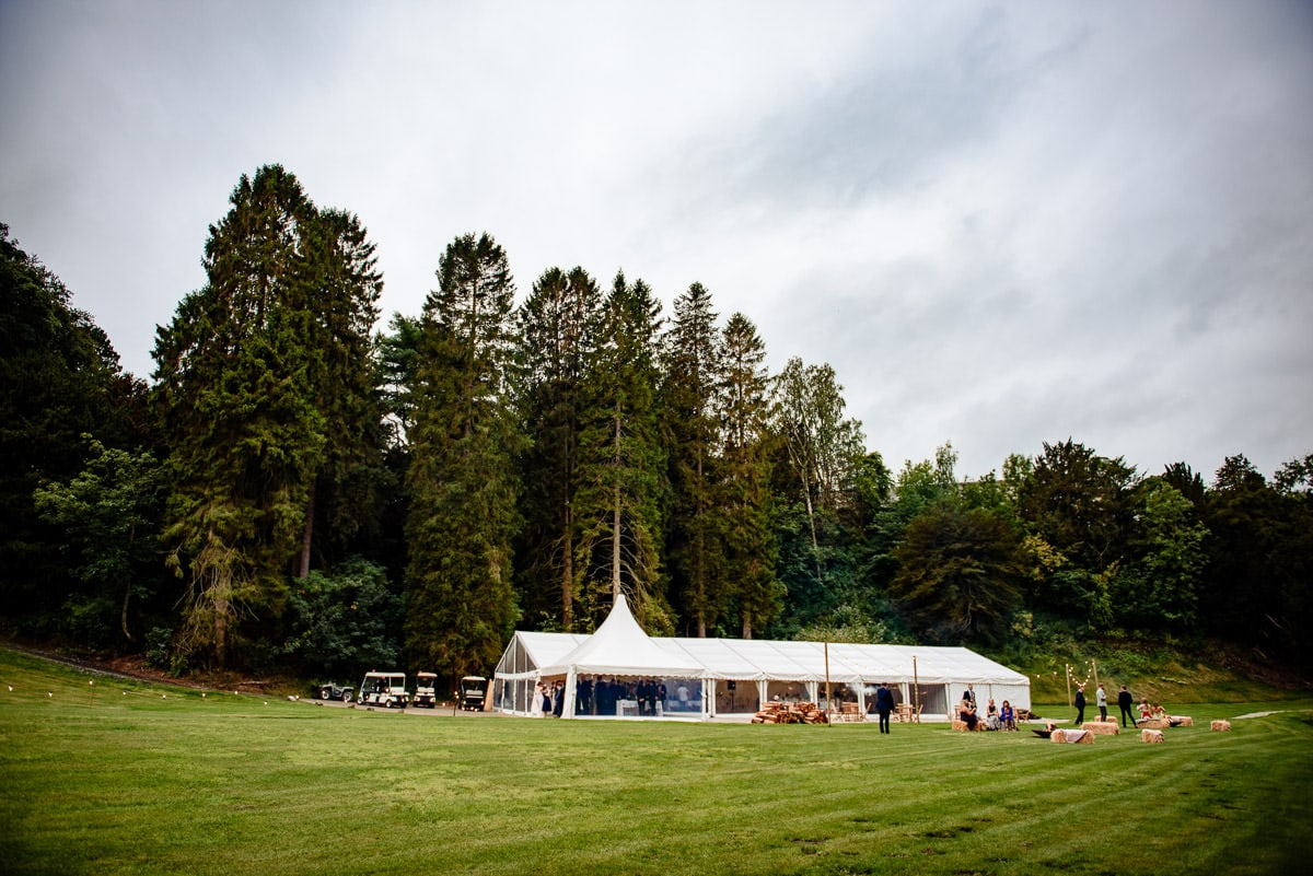 gisburn park estate wedding marquee