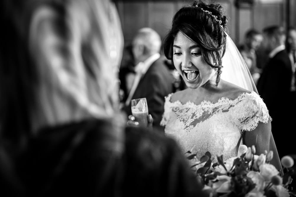 laughing bride at hillbark hotel