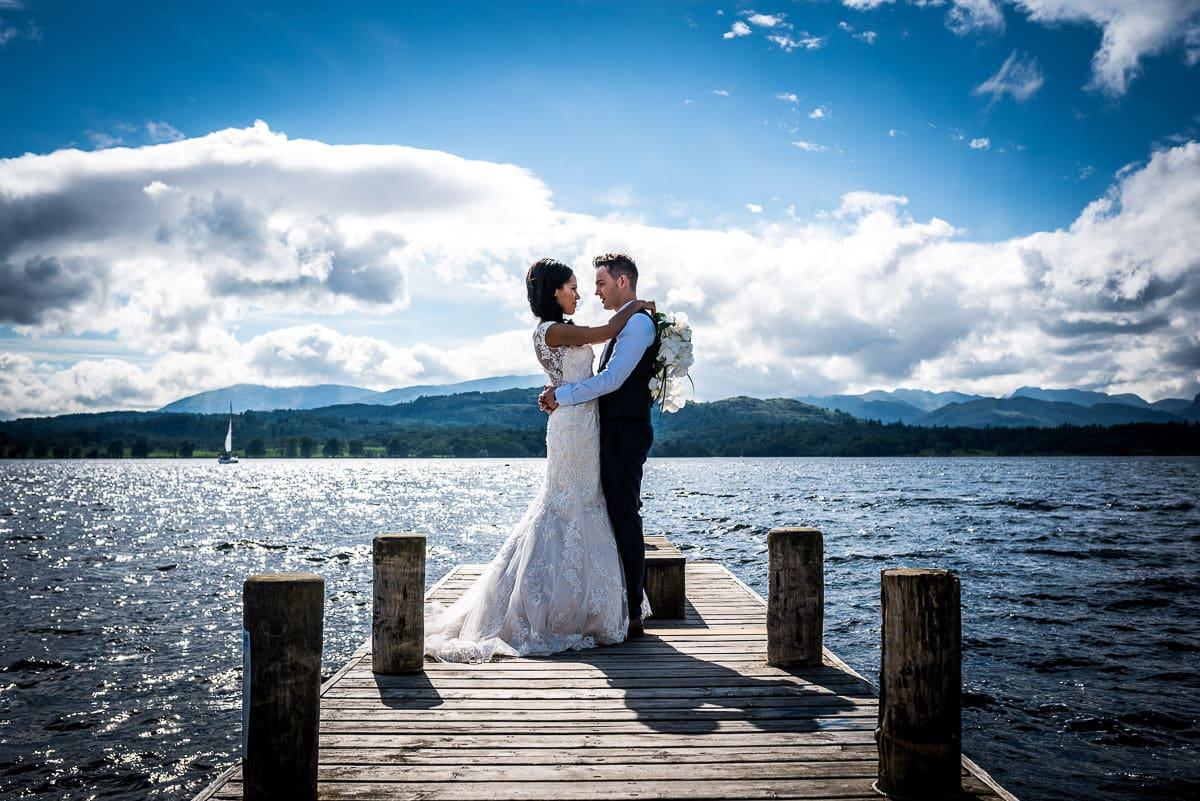 the samling wedding couple