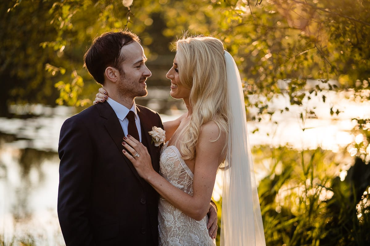 beautiful couple photo at gilpin lake house wedding