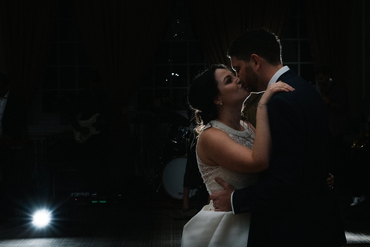 the first dance at Manchester hall