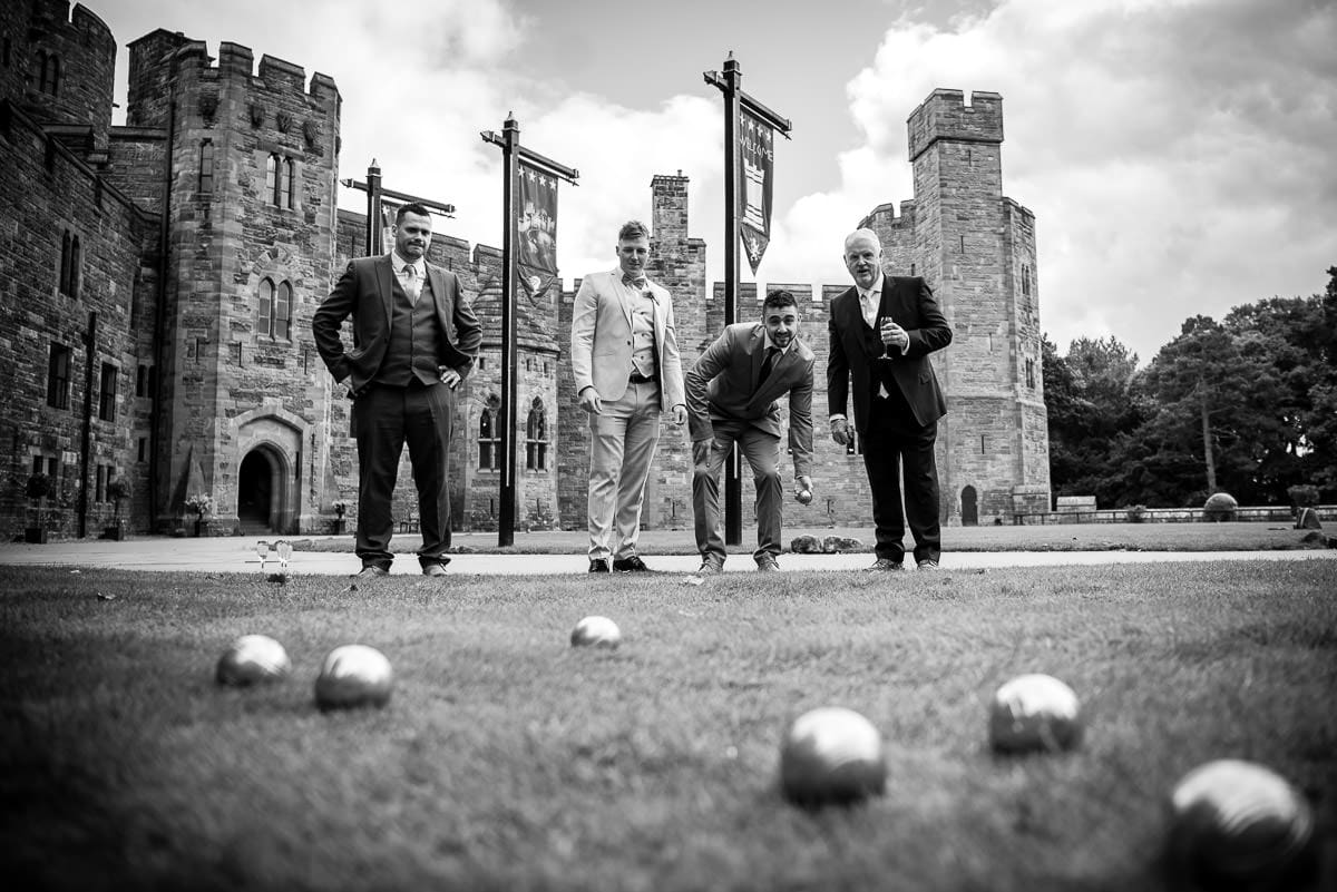 garden games at peckforton castle