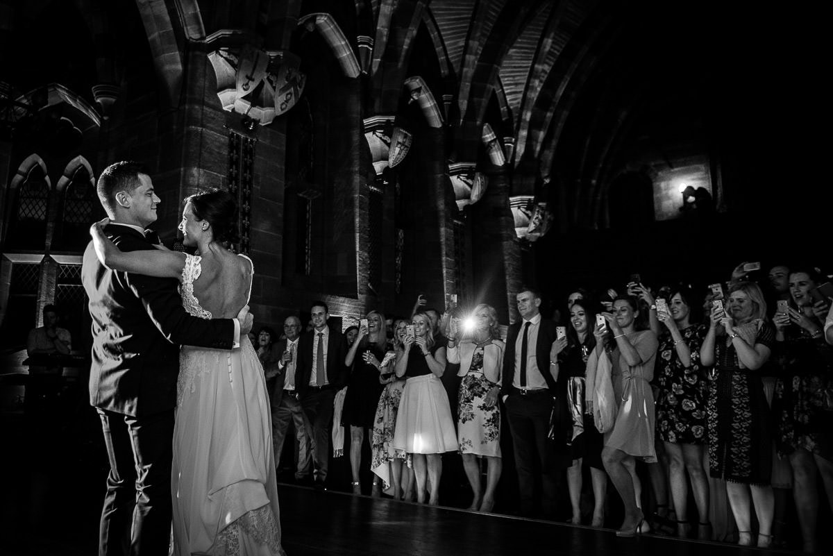 peckforton castle first dance photo