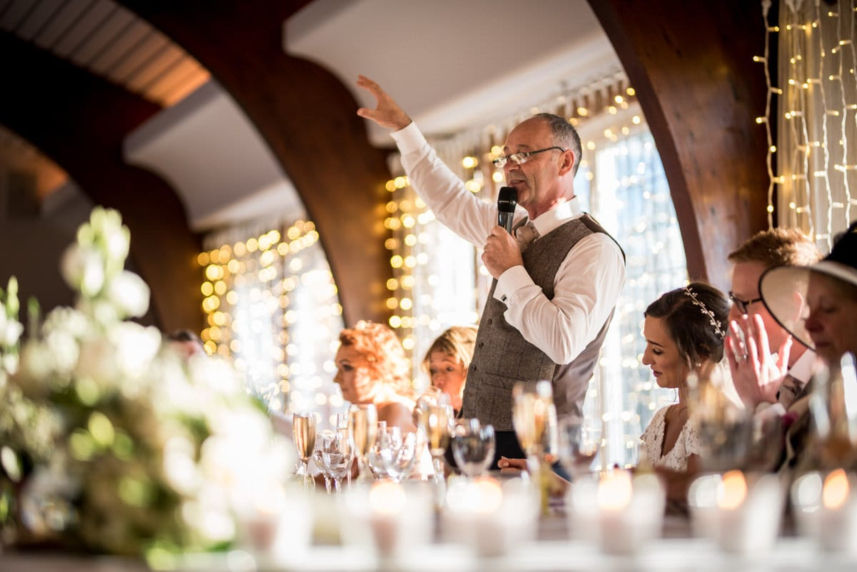 father of the bride speech at colshaw hall