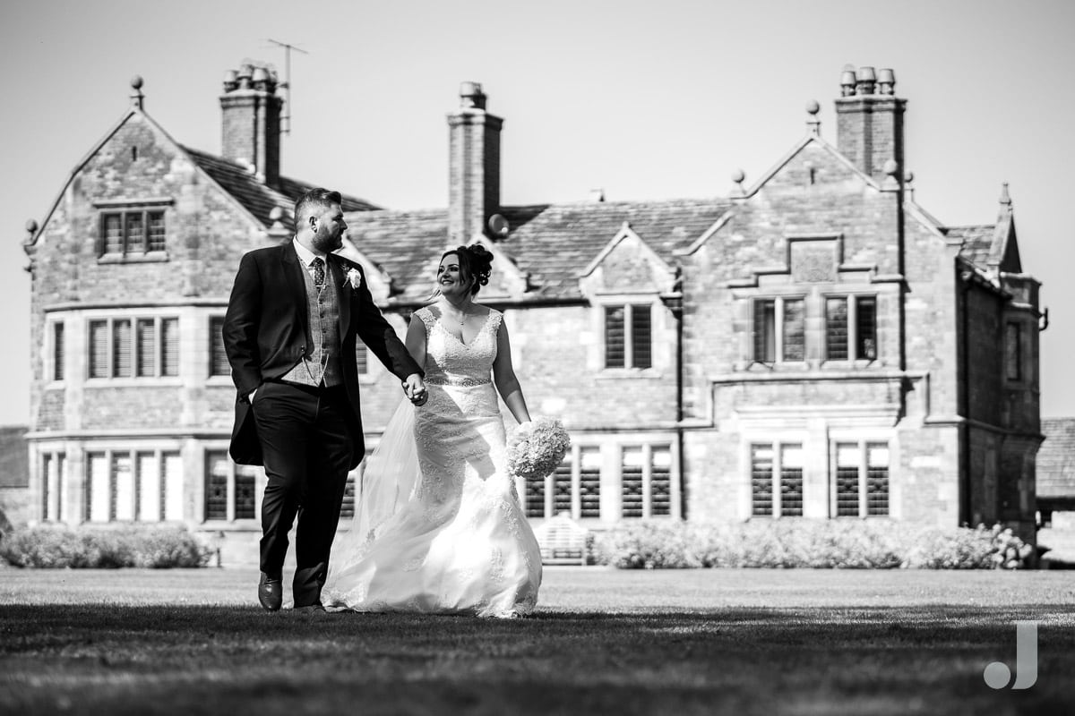 colshaw hall wedding photos
