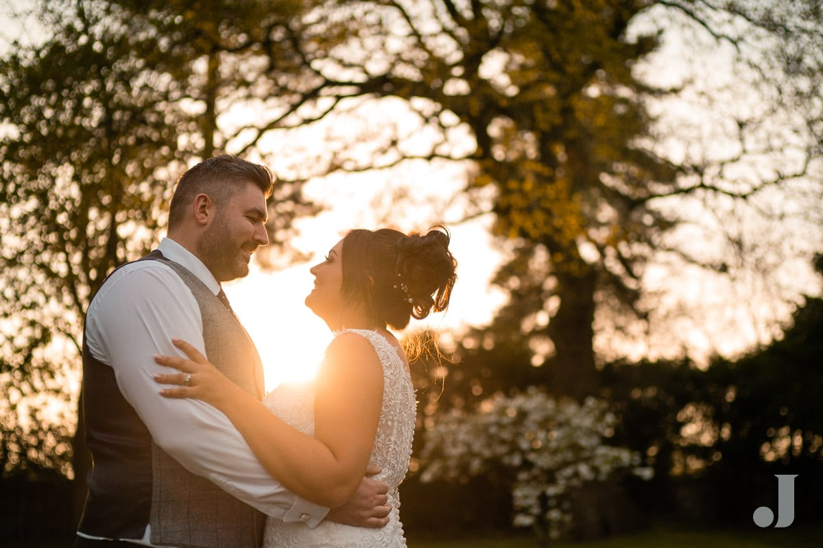 sunset photos at Colshaw Hall