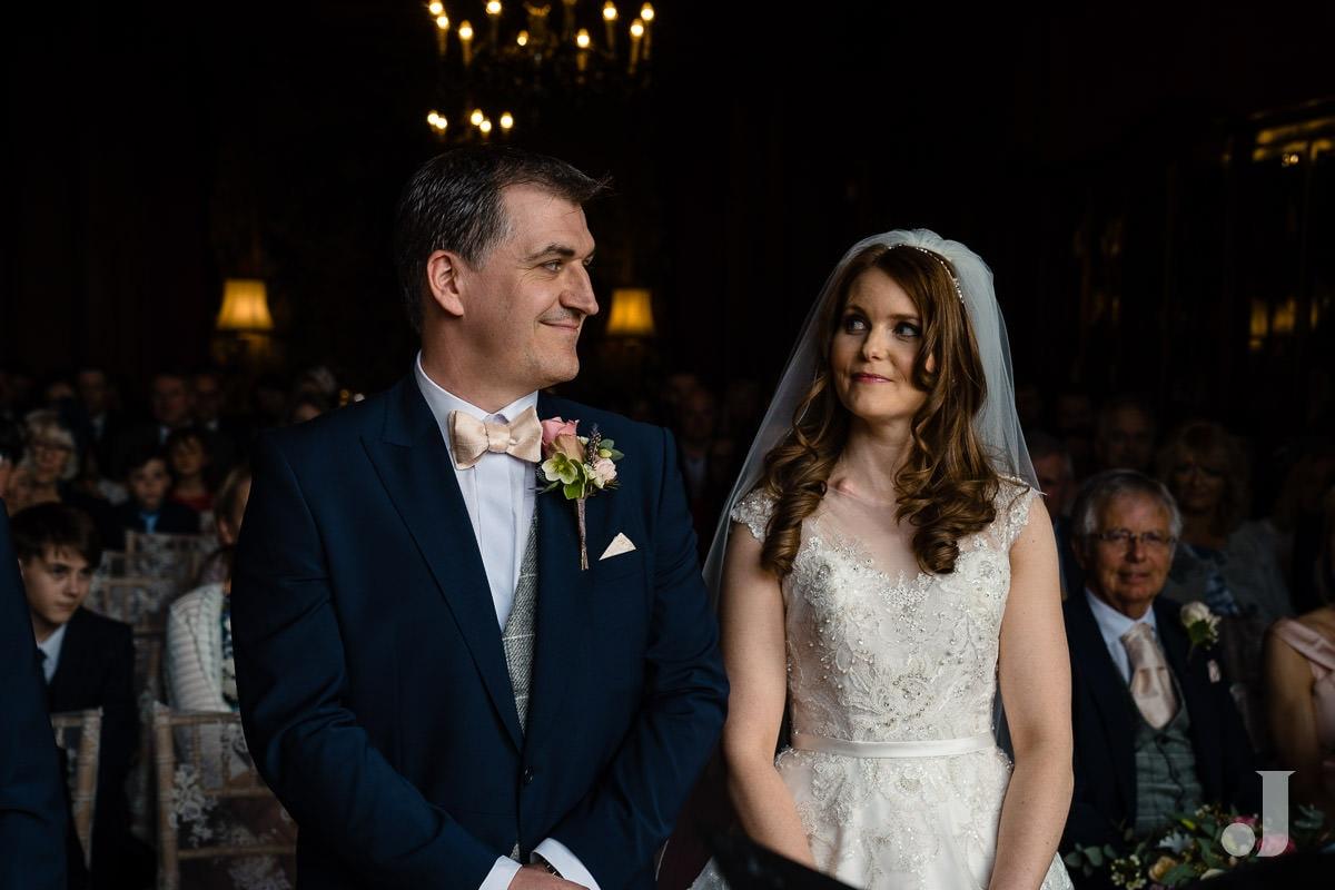 wedding service at Thornton Manor