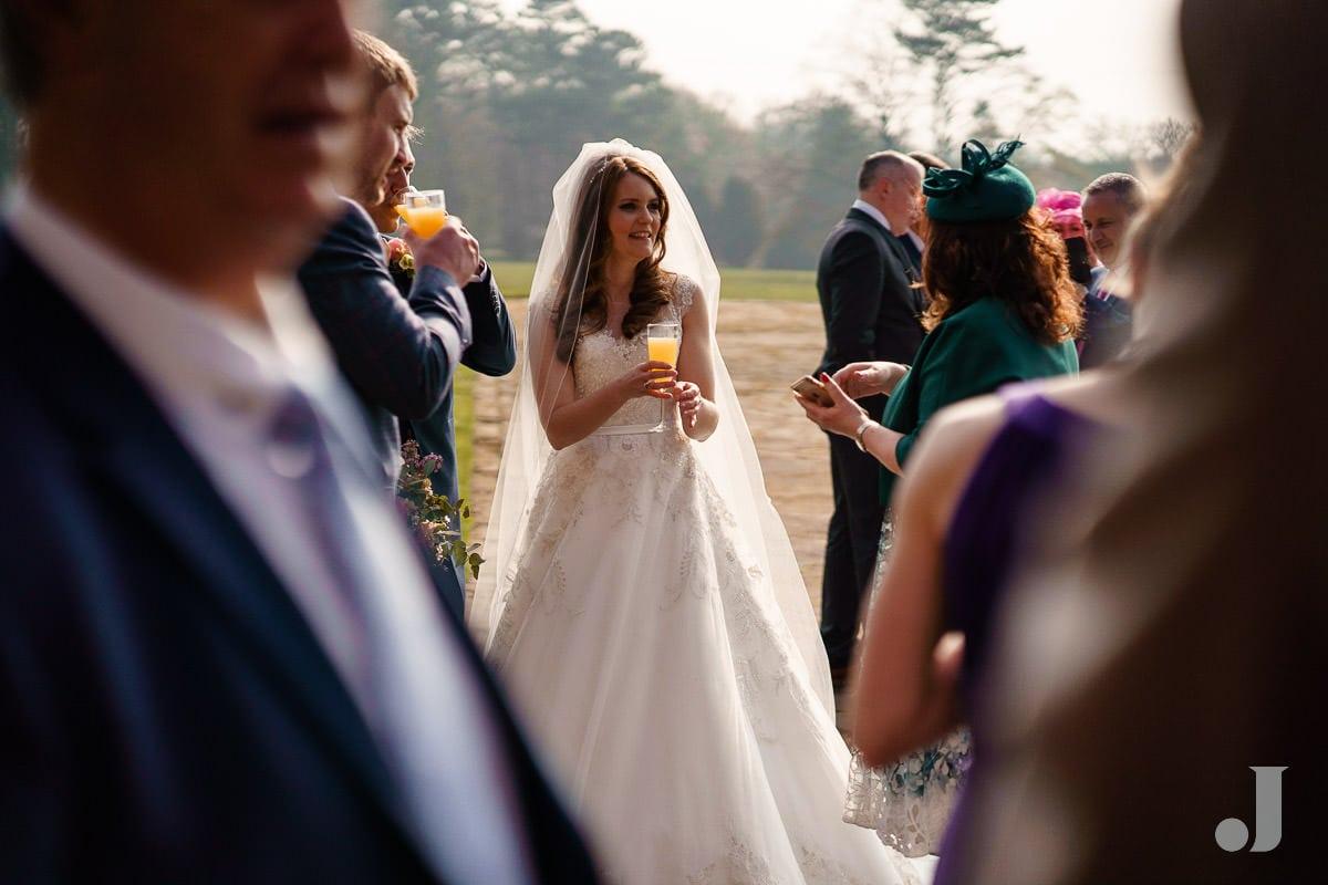 bride at Thornton Manor