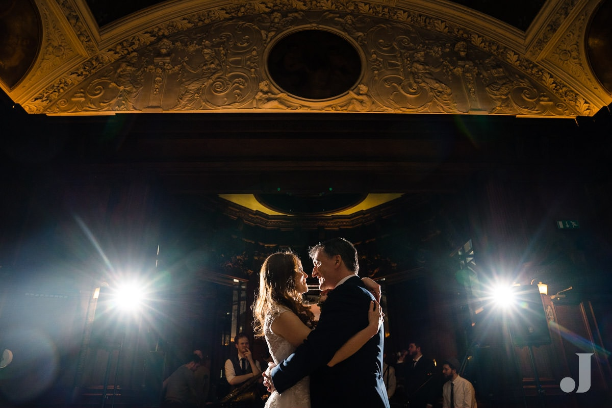 first dance at Thornton Manor