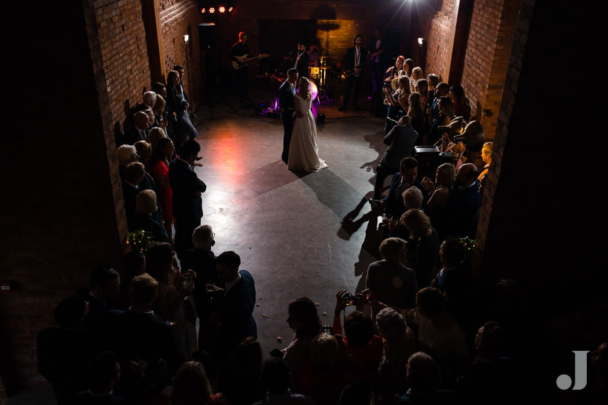 high wide of first dance at the holford estate